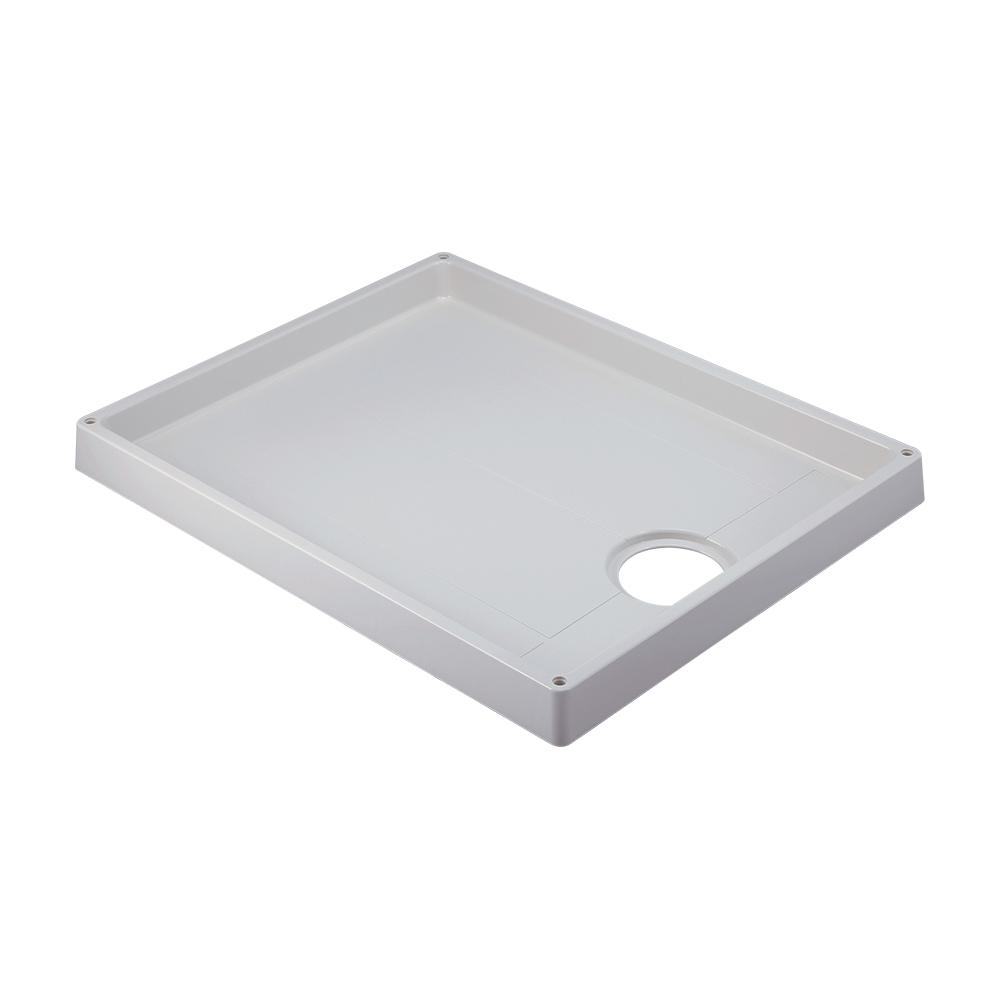 カクダイ【426-421-CW】洗濯機用防水パン ホワイト