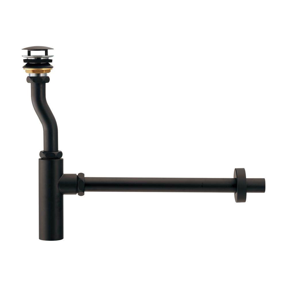 カクダイ【433-148-25D】ボトルトラップユニット ブラック 排水管