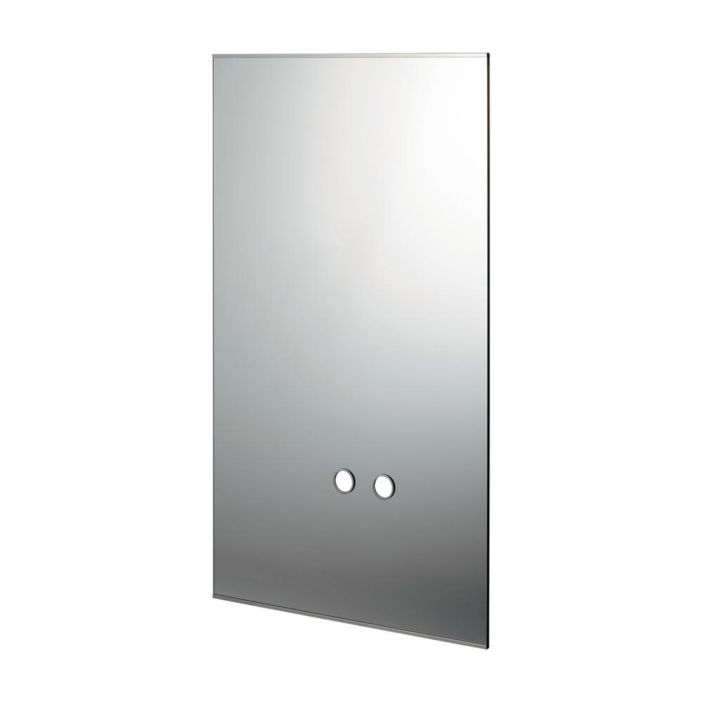 カクダイ【207-560】化粧鏡(水栓取付穴つき)