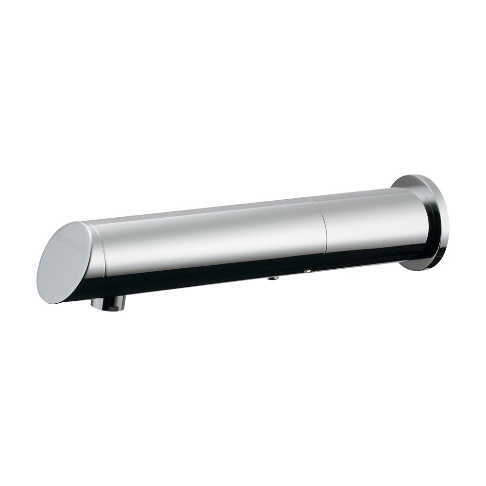 カクダイ【713-512】センサー水栓(ロング) バッテリー電磁弁内蔵