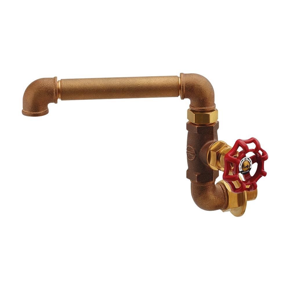 カクダイ【707-011-13】厨房用横形自在水栓