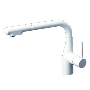 KVK【KM6101ECM4】シングルレバー式シャワー付混合栓 吐水口回転規制160° 一般地用