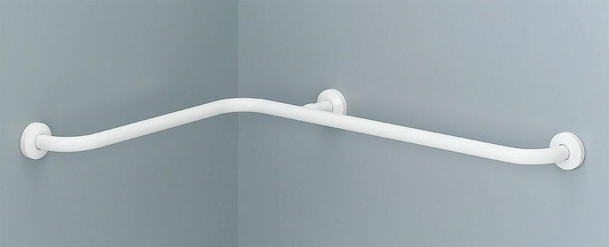 ####INAX/LIXIL【KF-912AE70J】浴室入り隅用手すり(L型) 樹脂被覆タイプ 受注生産約2週間