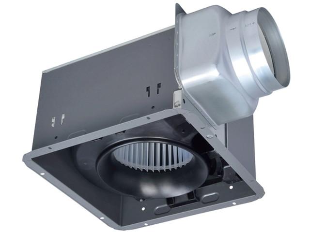 三菱 換気扇【VD-18ZB12-IN】ダクト用換気扇 天井埋込形 サニタリー用 金属ボディタイプ グリル別売タイプ 低騒音形(旧品番 VD-18ZB10-IN)
