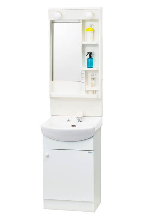 ####ナスラック/NASLUCK 洗面化粧台【RMIW-50B1+WE5WA3】単水栓タイプ グランティスC 間口50cm