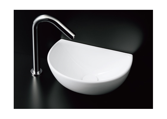 ###TOTO セット品番【L723+TENA12BL】カウンター式手洗器 ベッセル式 台付自動水栓(単水栓) 壁排水金具(Pトラップ)