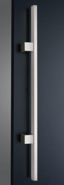 ####u.神栄ホームクリエイト【FHS3104-H-800】ドアハンドル Square Handle 角パイプ ハンドル 仕上げ:HL