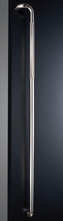 ####u.神栄ホームクリエイト【FHS2104-27-1400R】ドアハンドル Semi Long セミロング 仕上げ:鏡面 右吊元