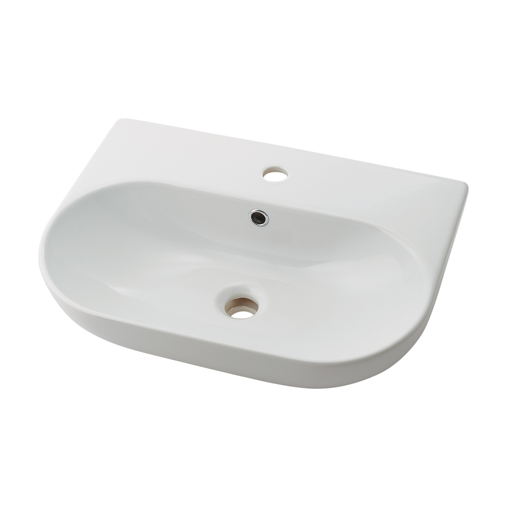 ☆☆LY 493235 カクダイ #LY-493235 角型洗面器 置型 上品 Olympia セール開催中最短即日発送 陶器製 壁掛け兼用