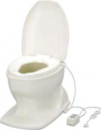 ###アロン化成 安寿【871-128】腰掛便座 簡易設置型洋式トイレ サニタリエースOD 据置式 暖房便座 補高#8