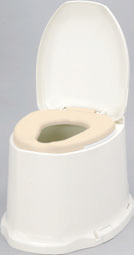 ###アロン化成 安寿【871-135】腰掛便座 簡易設置型洋式トイレ サニタリエースSD 据置式 ソフト便座 補高#5