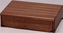 ###アロン化成 安寿【535-544】段差解消商品 木製玄関台 45W-30-1段 ブラウン