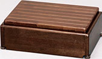 ###アロン化成 安寿【535-570】段差解消商品 木製玄関台 S45W-30-1段 ブラウン
