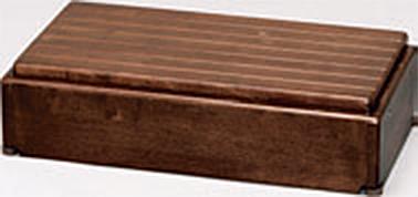 ###アロン化成 安寿【535-574】段差解消商品 木製玄関台 S60W-30-1段 ブラウン
