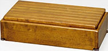 ###アロン化成 安寿【535-576】段差解消商品 木製玄関台 S60W-30-1段 ライトブラウン