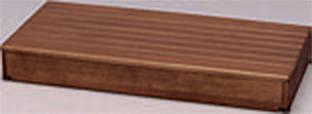 ###アロン化成 安寿【535-590】段差解消商品 木製玄関台 90W-40-1段 ブラウン