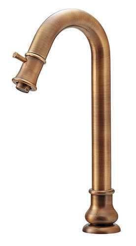 カクダイ【721-231-AB】立水栓(トール・オールドブラス)