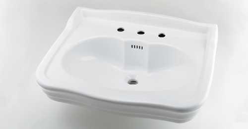 カクダイ【#LY-493215】壁掛洗面器//3ホール