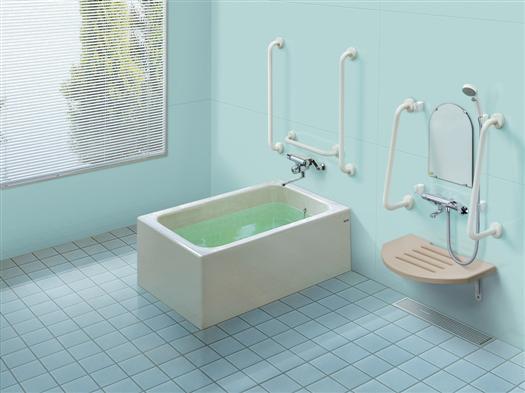 ###TOTO【PYS1114C】1150サイズ ポリバス(福祉施設用個別浴槽)