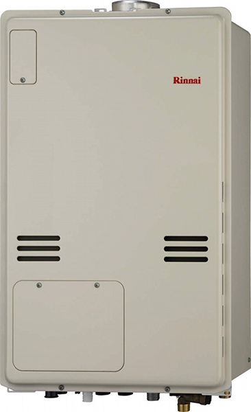 リンナイ ガス給湯暖房用熱源機【RUFH-A1610AU】フルオート PS扉内上方排気型 16号 1温度