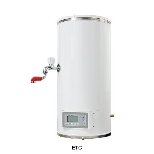 ###イトミック【ETC12BJS207C0】小型電気温水器 貯湯式 貯湯量12L 単相200V0.75kW (旧品番 ETC12BJS207B0) 受注生産