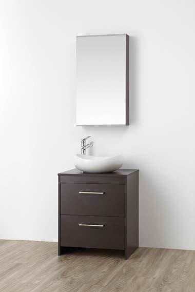###>三栄水栓/SANEI【WF015S2-600-DB-T2】(木目ダークブラウン) 洗面化粧台 (鏡付) WAILEA