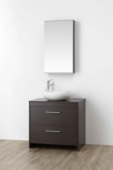 ###>三栄水栓/SANEI【WF015S2-750-DB-T3】(木目ダークブラウン) 洗面化粧台 (鏡付) WAILEA