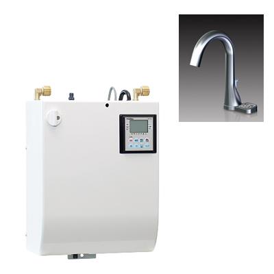 ###イトミック 小型電気温水器 貯湯式【ESWM3TFG206B0】単相200V 元止め式 ボタン付きグースネック水栓 貯湯量3L