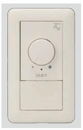 β神保電器 配線器具【WJH03650PW】J・WIDEシリーズ ライトコントロールスイッチセット (逆位相制御)