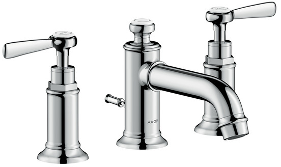 ハンスグローエ【16535000】アクサーモントルー 3ホール洗面混合水栓 30 レバーハンドル