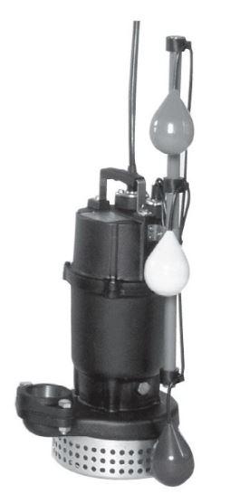 エバラ/荏原【40DSJ5.25】50Hz DSJ型 汚水用水中ポンプ 三相200V