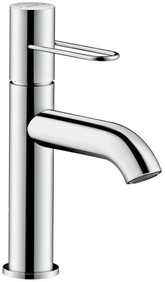 ハンスグローエ【38026000】アクサーウノ シングルレバー洗面混合水栓 100 ループハンドル(ポップアップ引棒無)