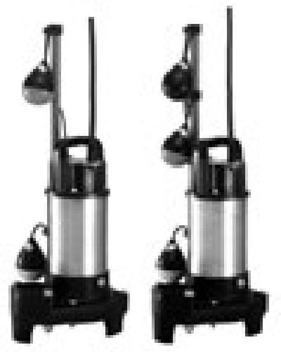 テラル 排水水中ポンプ【50PVT-6.75】60Hz PVT(自動式・親機のみ) 三相200V 雑排水・汚物用 樹脂製 PV型