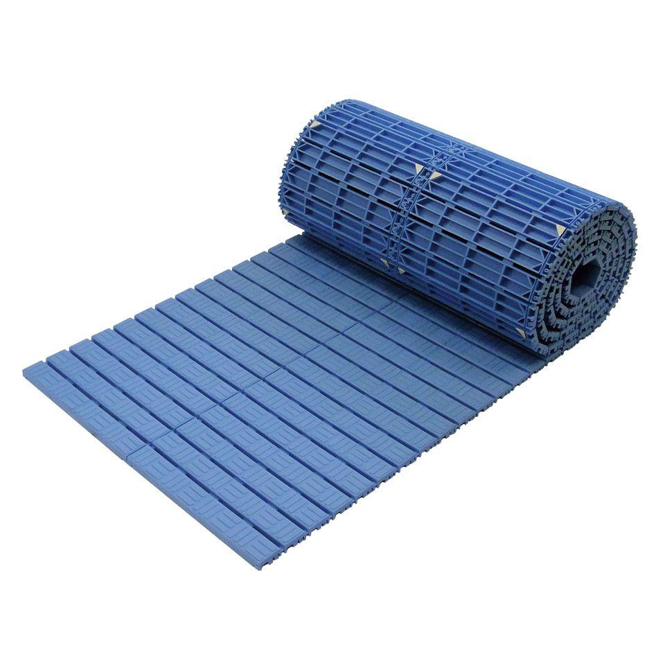 ####u.ミヅシマ工業【438-0060】スノコRs ブルー 600X5M 受注生産