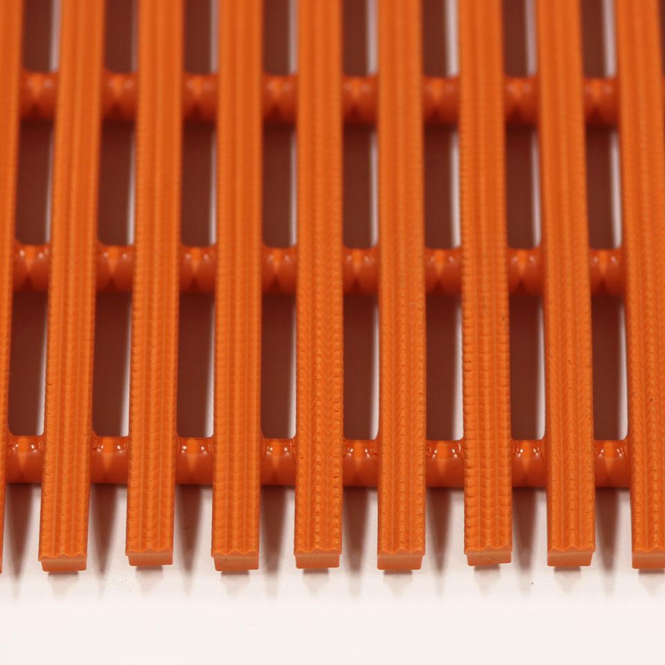 ####u.ミヅシマ工業【439-0212】セーフティマット ハード オレンジ ハードタイプ 910X6M