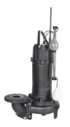エバラ/荏原【80DLA51.5】50Hz DLA型 汚水・汚物用水中ポンプ 三相200V