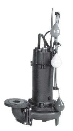 エバラ/荏原【80DLJ51.5】50Hz DLJ型 汚水・汚物用水中ポンプ 三相200V