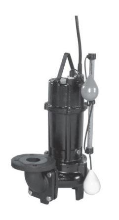 エバラ/荏原【50DV2A5.4SA】50Hz DV2A型 汚物用ボルテックス水中ポンプ 単相100V