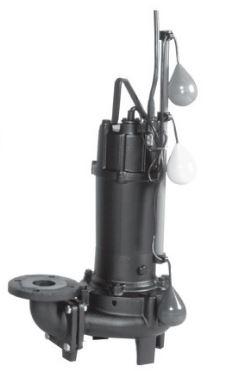 エバラ/荏原【50DVJ5.75A】50Hz DVJ型 汚物用ボルテックス水中ポンプ 三相200V