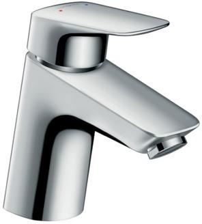 ハンスグローエ【71070000】ロギス シングルレバー洗面混合水栓 70
