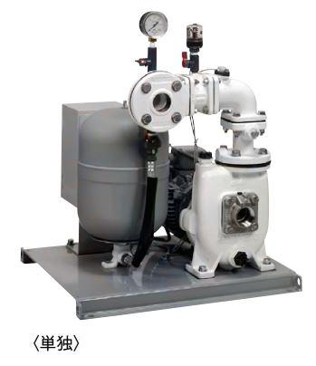 川本 自吸式 海水用自動給水ユニット 60Hz【GSZB2-406SE2.2】単独運転 三相200V 2.2kW GSZB2形 カワホープ ナイロンコーティング 定圧給水