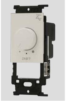 β神保電器 配線器具【NW-RTE2】J・WIDE SLIM(Jワイドスリム) ライトコントロールスイッチ本体 LED照明対応形 調光範囲設定機能付 (逆位相制御)
