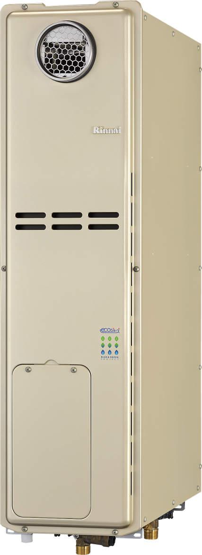 ###リンナイ ガス給湯暖房用熱源機【RUFH-SE2406SAW2-3】オート 24号 スリムタイプ 屋外据置台設置