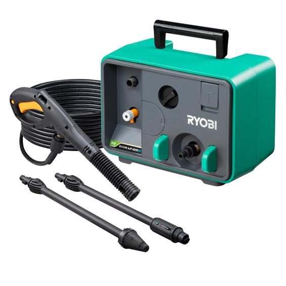 RYOBI/リョービ/京セラ【AJP-4205GQ】(667603A) 60hz 高圧洗浄機 業務用高圧ホース(10m)標準付属