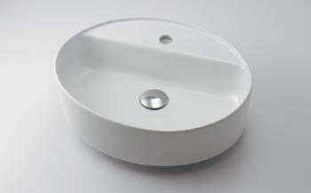 カクダイ【#LY-493217】丸型洗面器