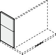 ###サンウェーブ/LIXIL レンジフード 部材【RSP-A-5070AW】ホワイト スライド金属幕板 スライド横幕板 調節範囲500~700mm