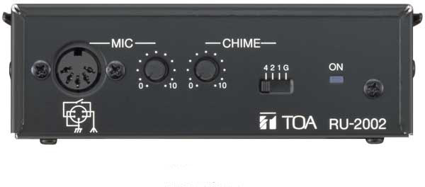Яティーオーエー/TOA 音響機器【RU-2002】リモートユニット チャイム付
