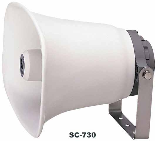Яティーオーエー/TOA 音響機器【SC-730A】車載用ホーンスピーカー 30W