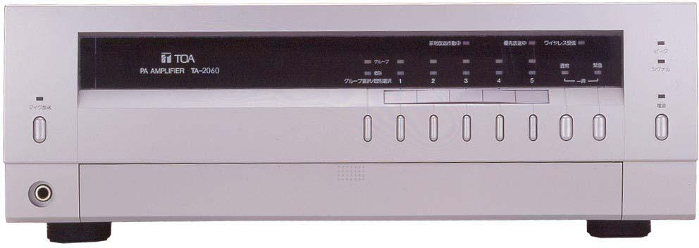 Яティーオーエー/TOA 音響機器【TA-2060】卓上型アンプ 60W 5局スピーカーセレクター