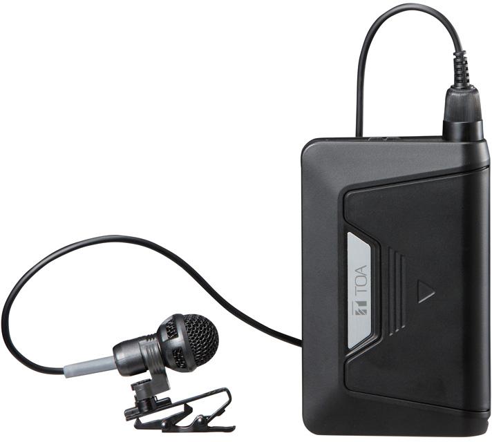 Яティーオーエー/TOA 音響機器【WM-D1300】デジタルワイヤレスマイク タイピン型 PLLシンセサイザー方式 抗菌